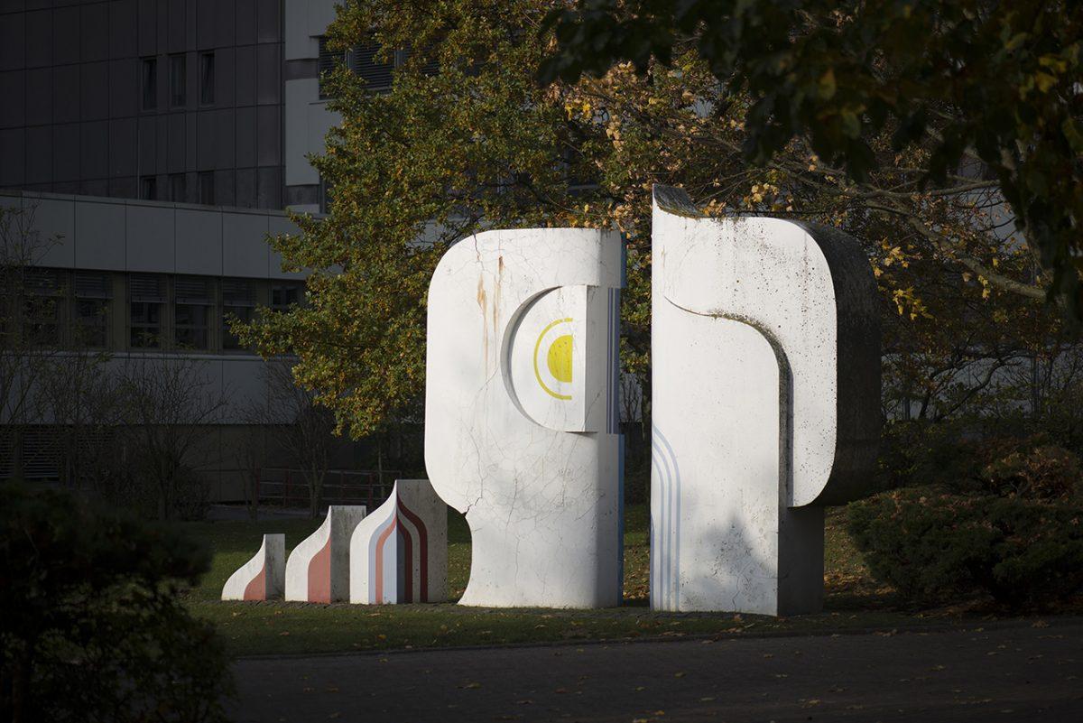 Fotografie des Kunstwerks von Gerhard Backschat und Erich Lethgau
