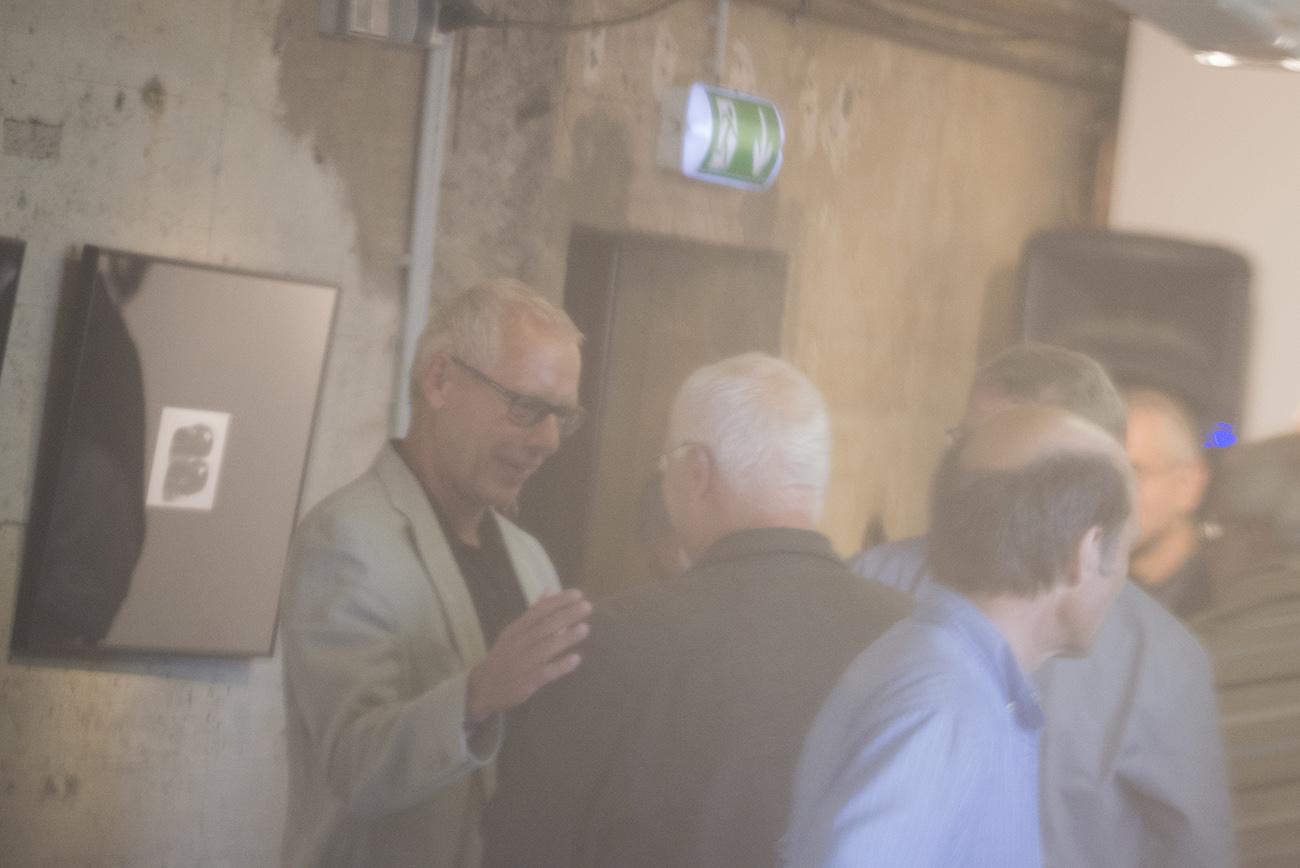 Impression der Ausstellung von Wolfgang Meyer-Hesemann im Bunker-D